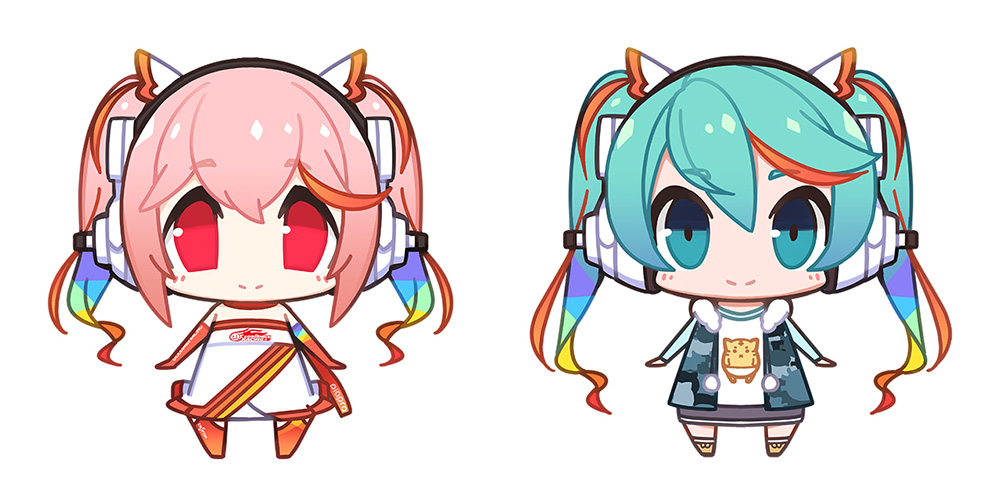 SUPERSONICO × RACING MIKU