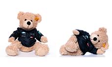 Hatsune Miku GT Project 2019 steiff Fynn Teddy bear  Team T-shirt Ver.